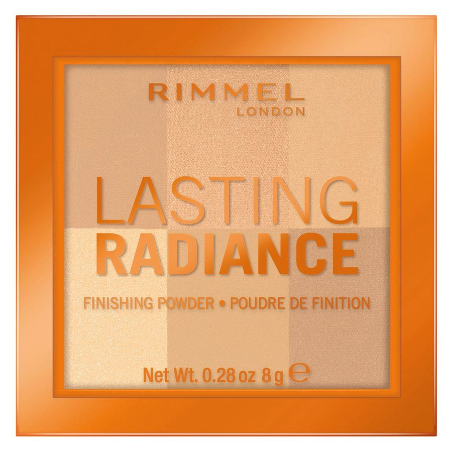 Rimmel London Lasting Radiance Powder, # 001 Ivory (8 g)
