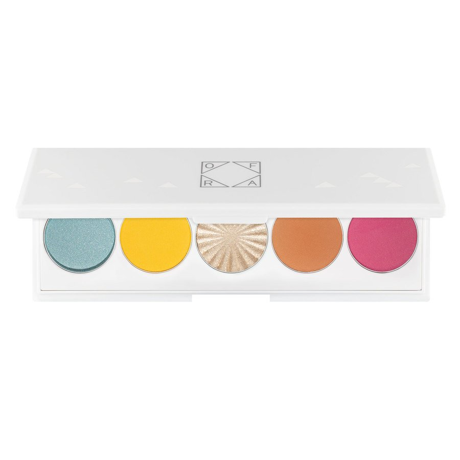 Ofra Signature Eyeshadow Palette, Beachside (5 x 2 g)