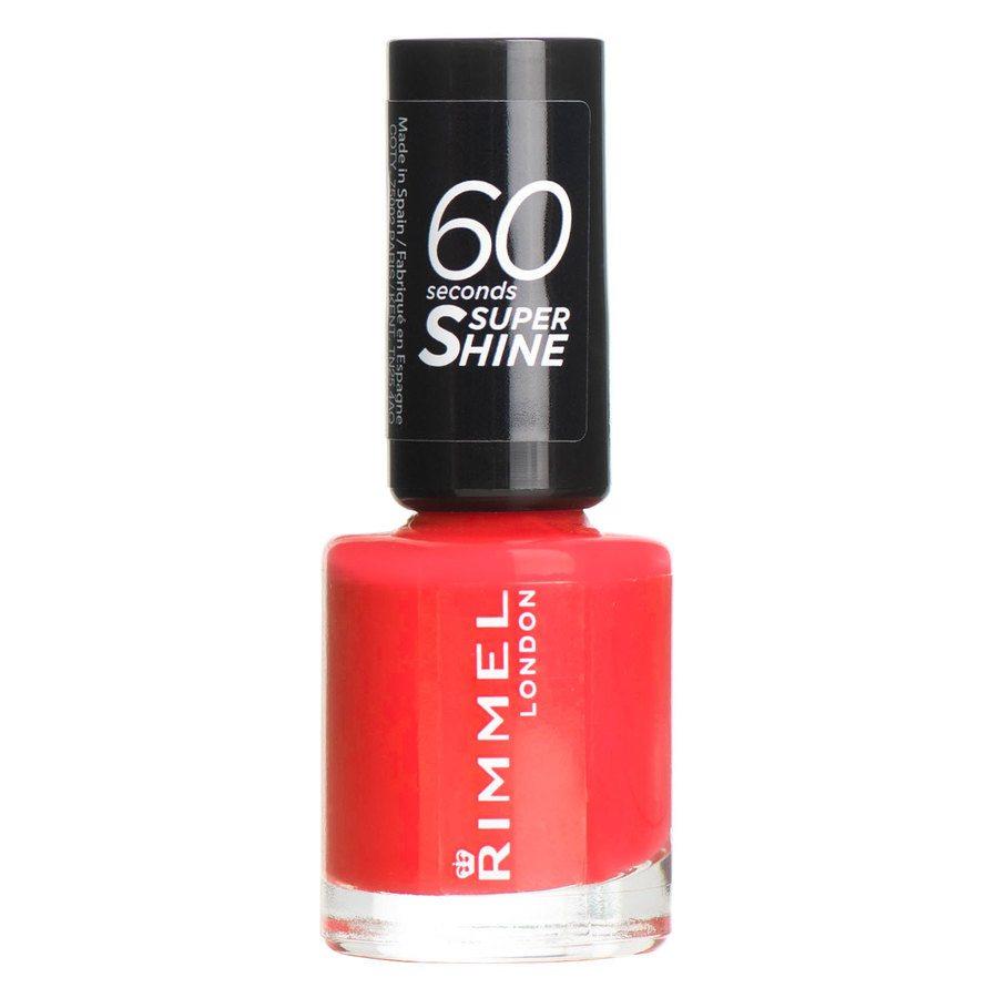 Rimmel London 60 Seconds Super Shine Nail Polish, # 300 Glaston (8 ml)