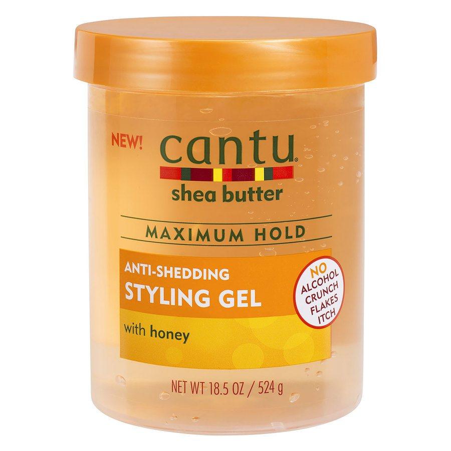 Cantu Shea Butter Maximum Hold Anti-Shedding Styling Gel (524g)