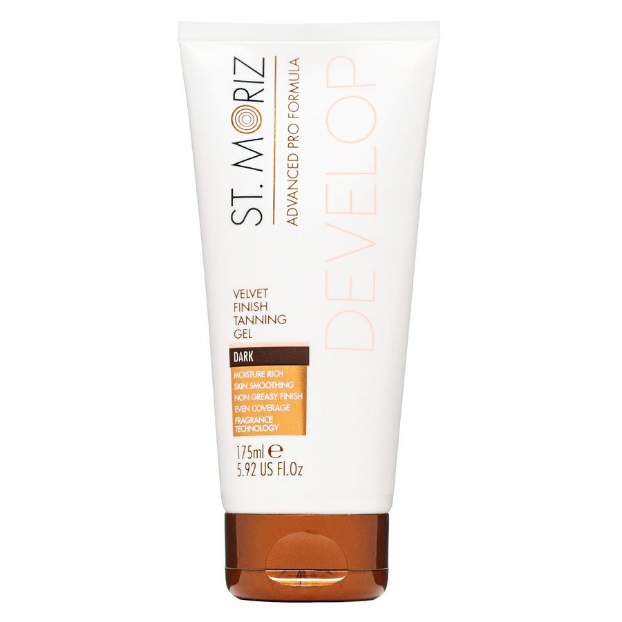 St. Moriz Advanced Pro Formula Develop Velvet Finish Tanning Gel, Dark (175 ml)