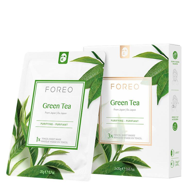Foreo UFO Mask Green Tea Sheet Mask 3x20g