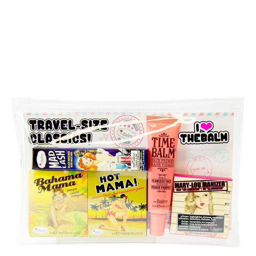 The Balm Travel Set With Cosmetics Bag (5 Teile)