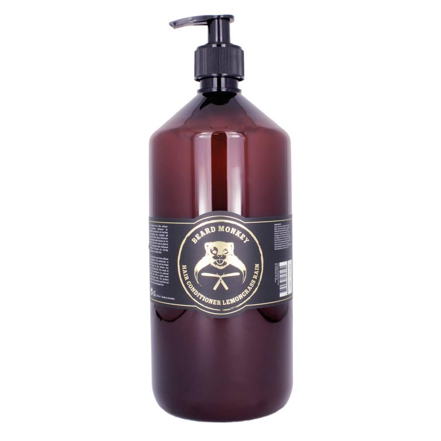Beard Monkey Hair Conditioner, Lemongrass Rain (1000 ml)