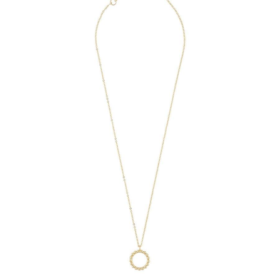 Snö Of Sweden Point Pendant Halskette (42cm), Plain Gold
