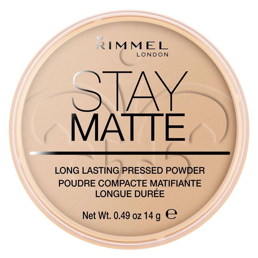 Rimmel Stay Matte Pressed Face Powder, Sandstorm 004 (14 g)