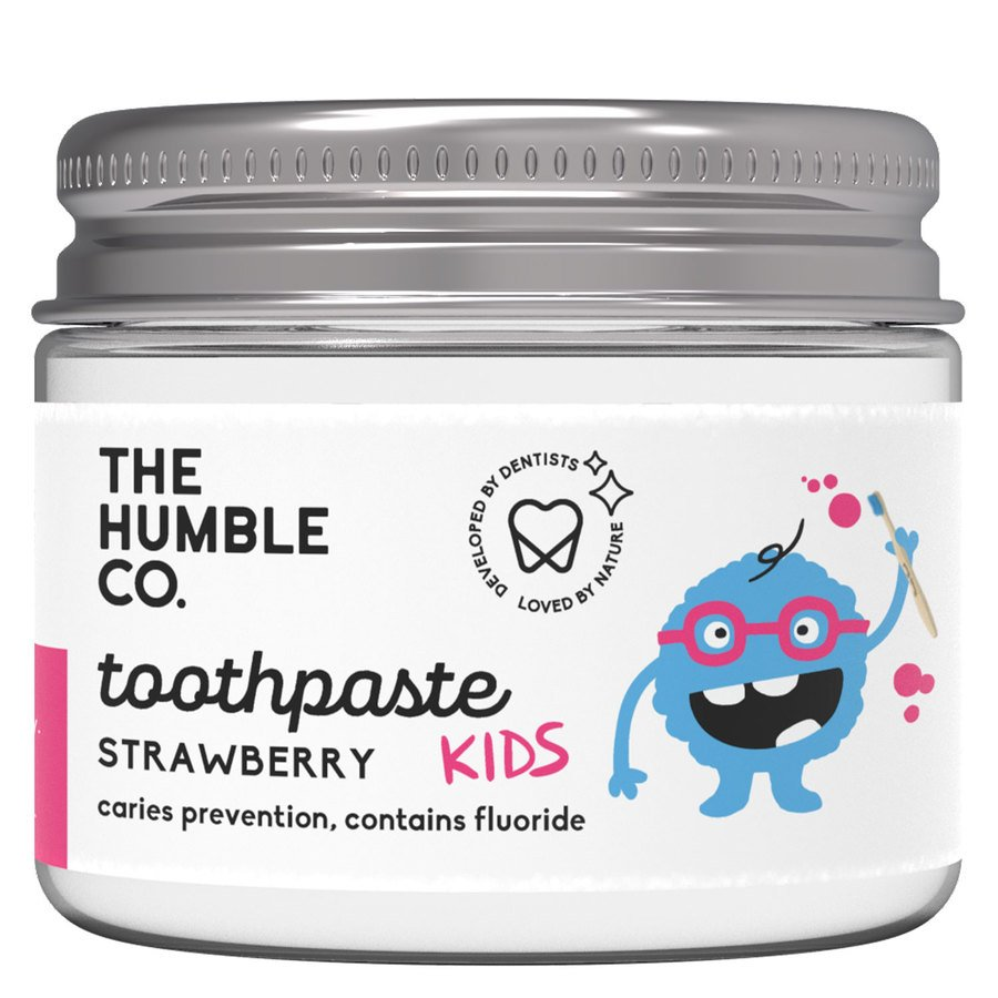 The Humble Co Humble Natural Toothpaste In Jar Kids, Strawberry 50ml
