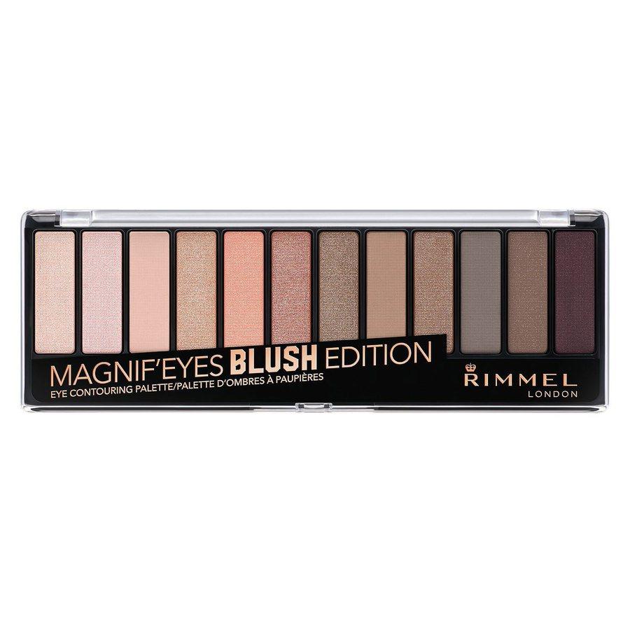 Rimmel London Magnif'eyes Eyeshadow Palette, Blushed Edition (14g)