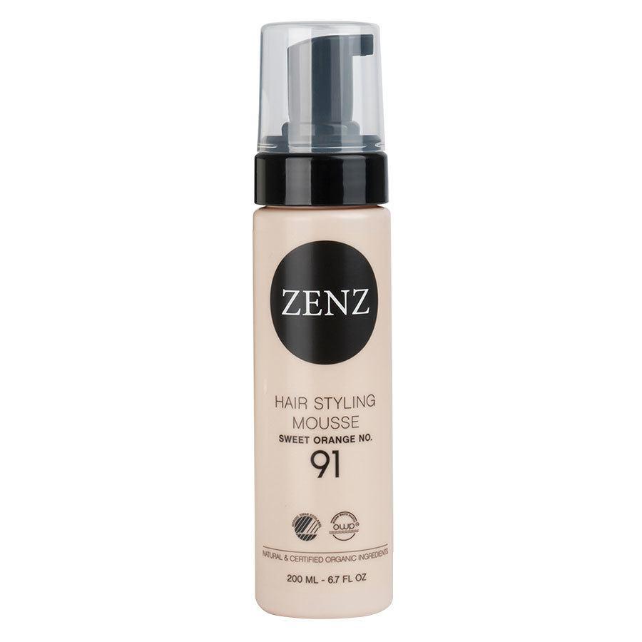 Zenz Organic No 91 Hair Styling Mousse Extra Volume Sweet Orange 200 ml
