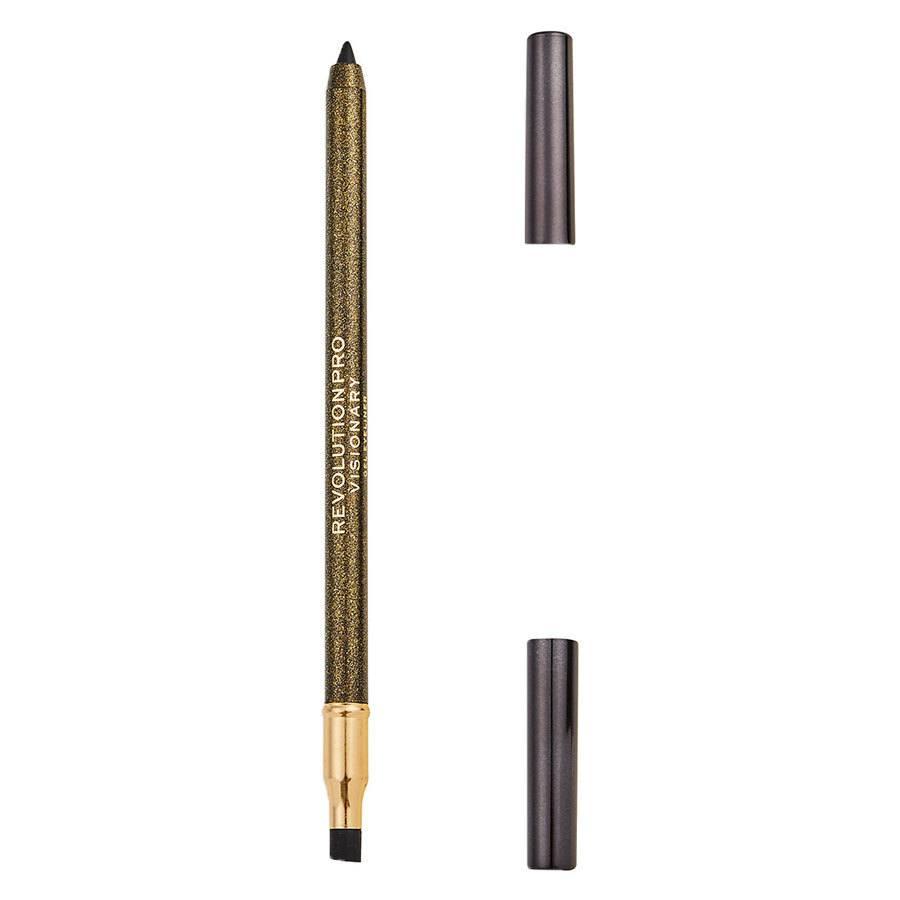 Revolution Beauty Revolution Pro Gel Eyeliner Pencil, Noir 1,2 g