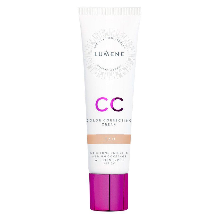 Lumene CC Color Correcting Cream, Tan SPF20 30 ml