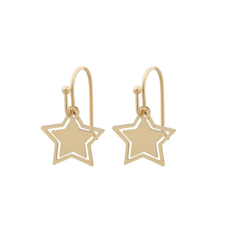 Snö Of Sweden Steira Pendant Ear, Plain Gold