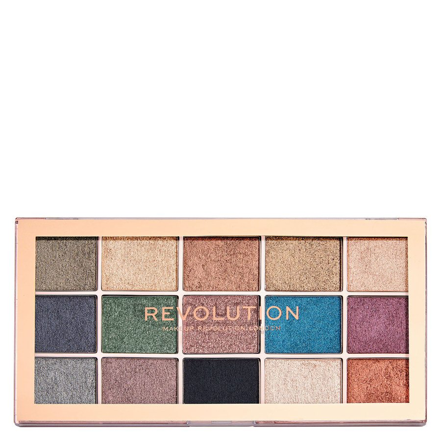 Makeup Revolution Foil Frenzy Hybrid Shadow Palette (15 x 1,1 g)