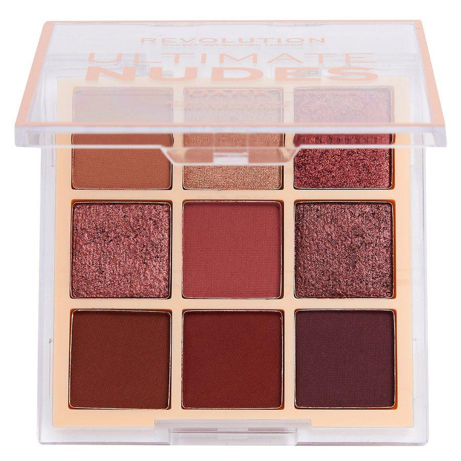 Makeup Revolution Ultimate Nudes Shadow Palette, Dark 6,8g