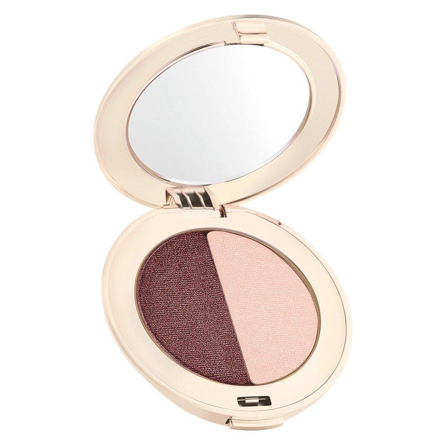 Jane Iredale PurePressed Duo Eye Shadow, Berries & Cream 2,8 g