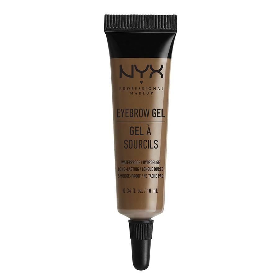 NYX Professional Makeup Eyebrow Gel, Brunette