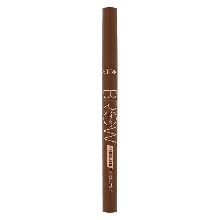 Catrice Brow Definer Brush Pen Longlasting, 030 Chocolate Brown 0,7 ml
