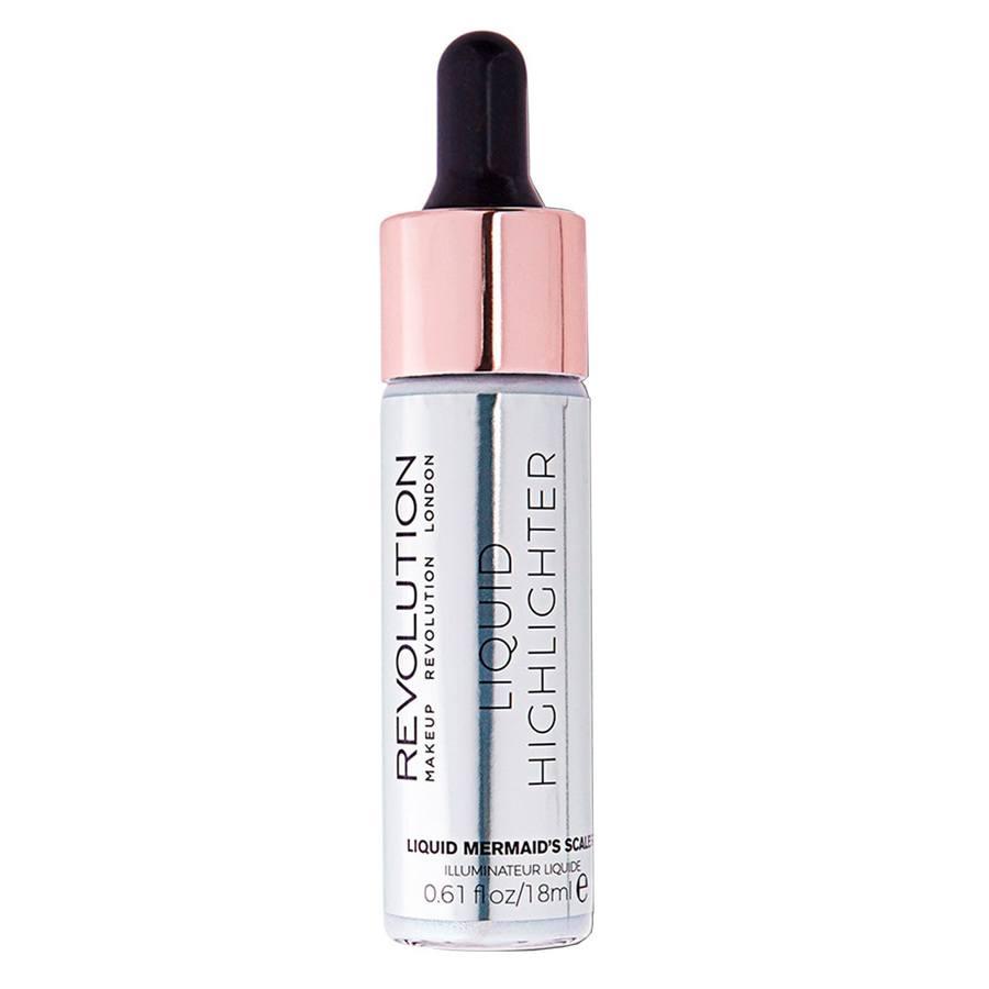 Makeup Revolution Liquid Highlighter, Mermaid Scales (18ml)