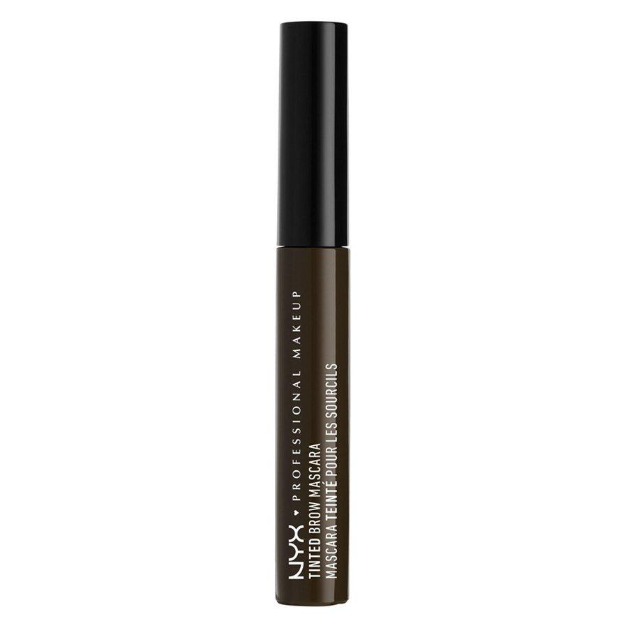 NYX Professional Makeup Tinted Brow Augenbrauen-Mascara, Schwarz TBM05