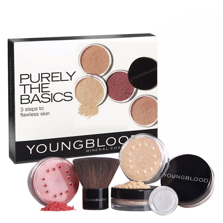 Youngblood Purley The Basics Starter Kit Tan