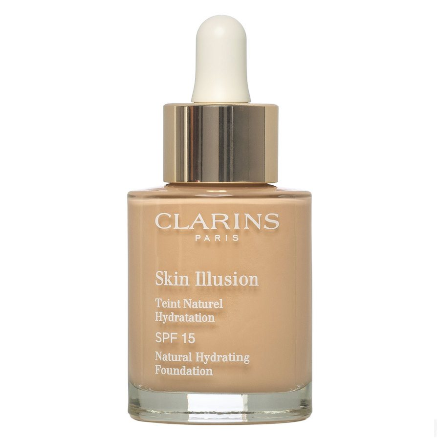 Clarins Skin Illusion Foundation, 105 Nude (30 ml)