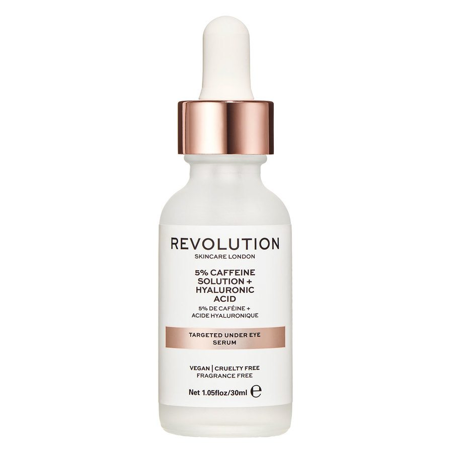 Revolution Skincare Targeted Under Eye Serum 5% Caffeine Solution + Hyaluronic Acid 30ml