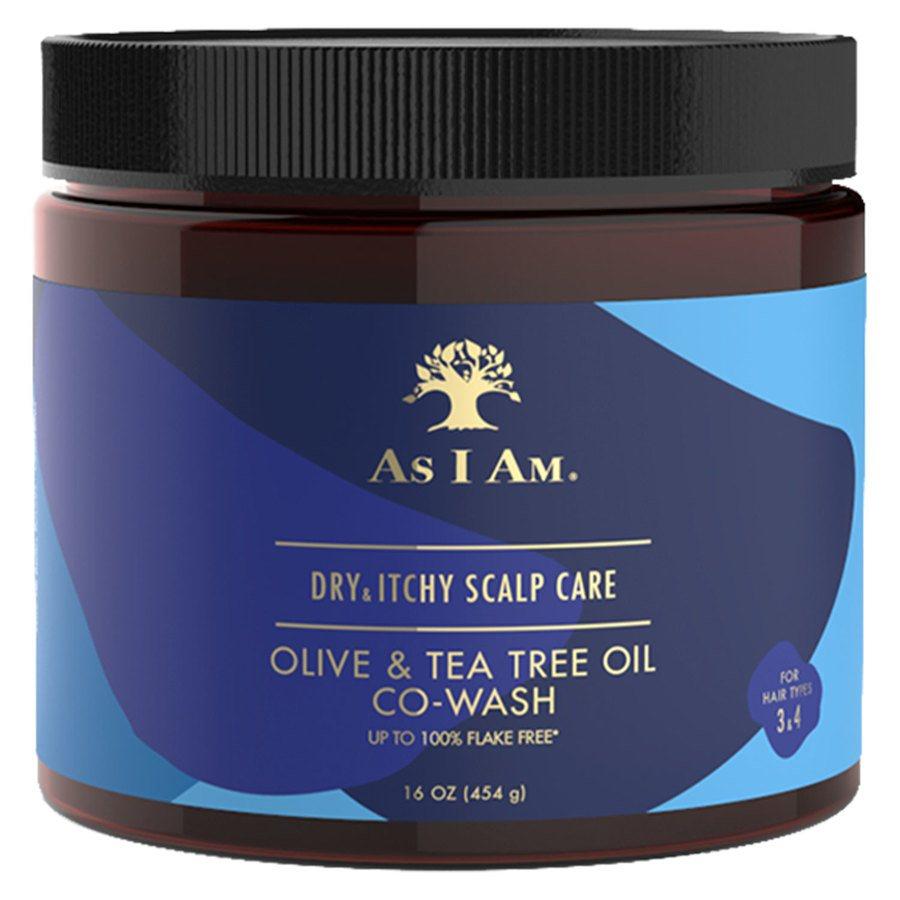 As I Am Dry & Itchy Scalp Care Olive & Tea Tree Oil CoWash 473 ml
