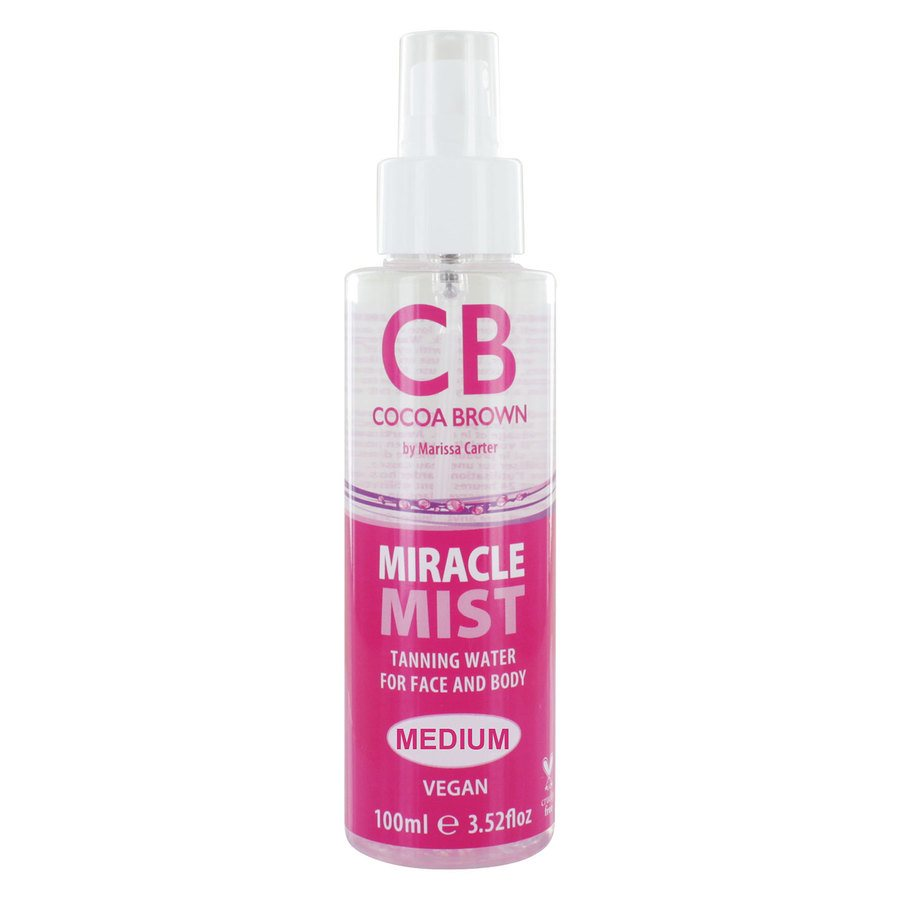 Cocoa Brown Miracle Mist Tanning Water, Medium (100 ml)