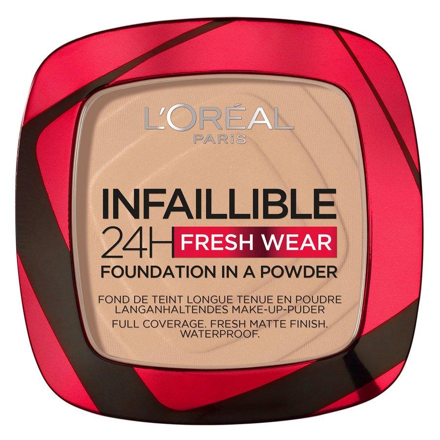 L'Oréal Paris Infaillible 24H Fresh Wear Foundation In A Powder, True Beige 9g