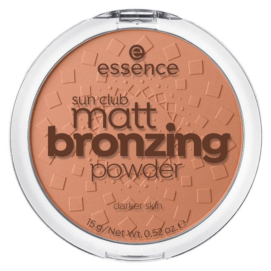 essence Sun Club Matt Bronzing Powder 15g ─ 02