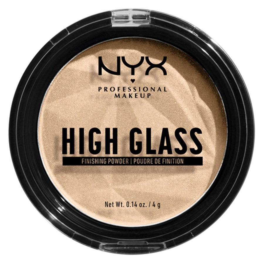 NYX Professional Makeup High Glass Finishing Powder, Light (4 g)
