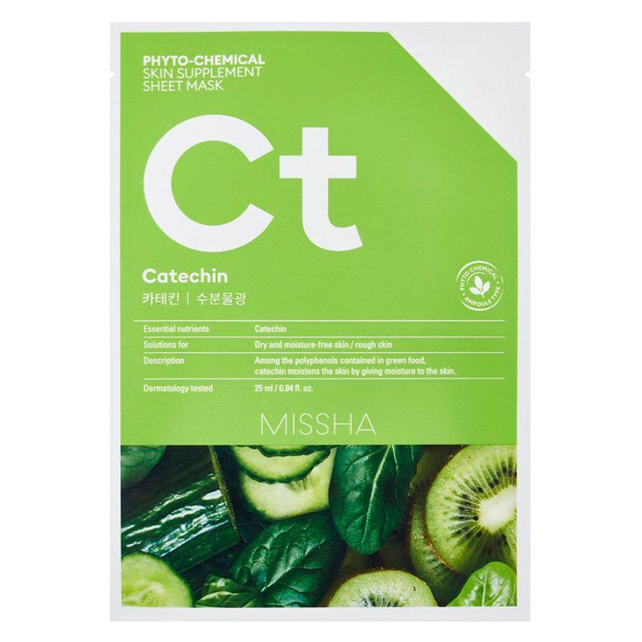 Missha Phytochemical Skin Supplement Sheet Mask, Catechin (25ml)