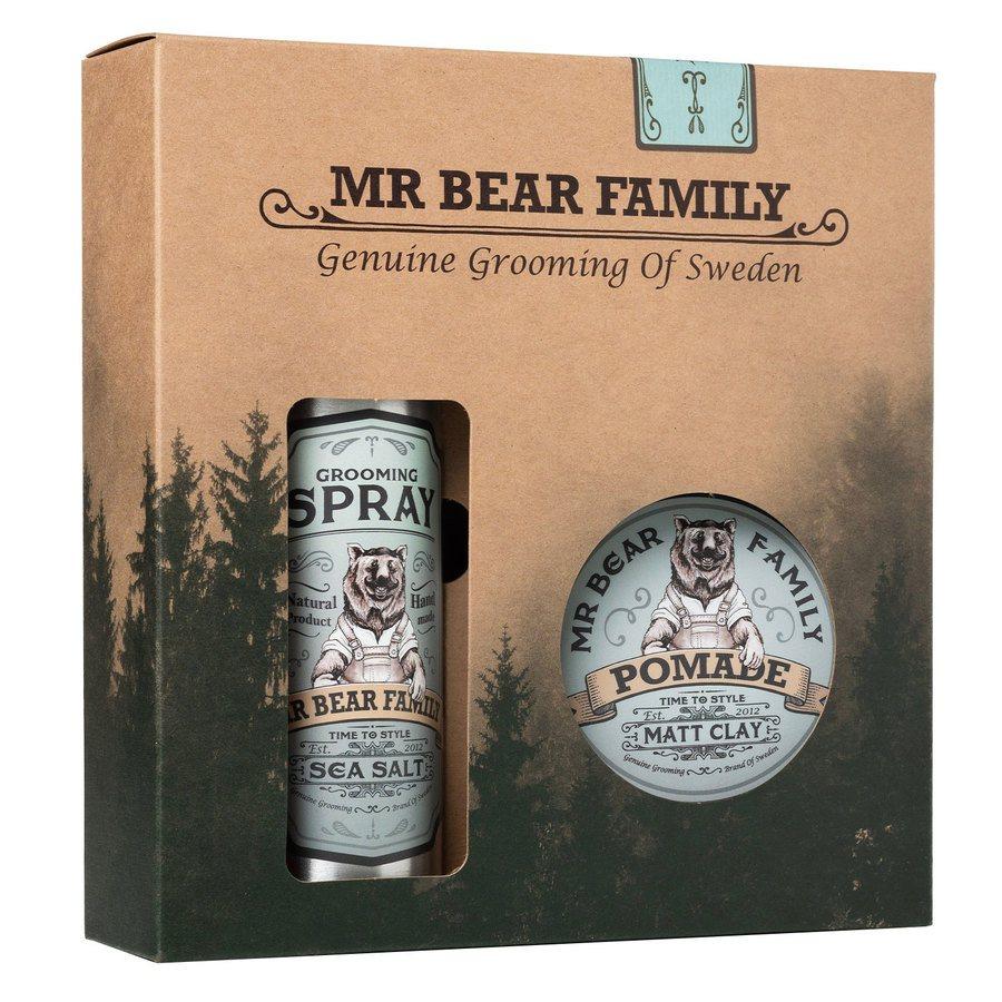 Mr Bear Family Kit Spray & Pomade  200 + 100ml