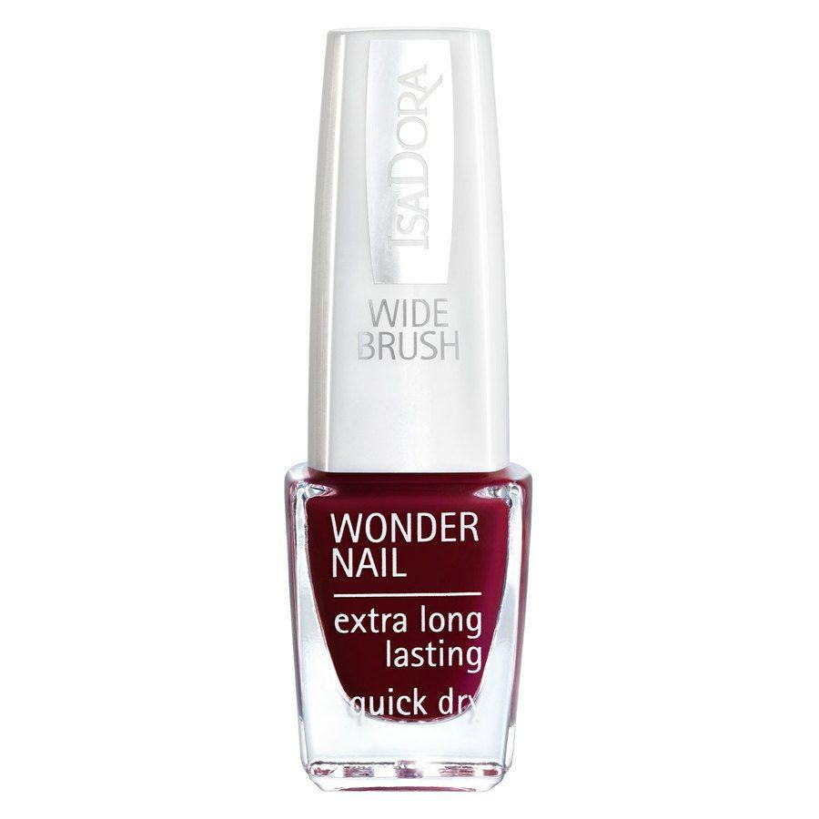 IsaDora Wonder Nail Wide Brush, # 641 Femme Fatal (6 ml)