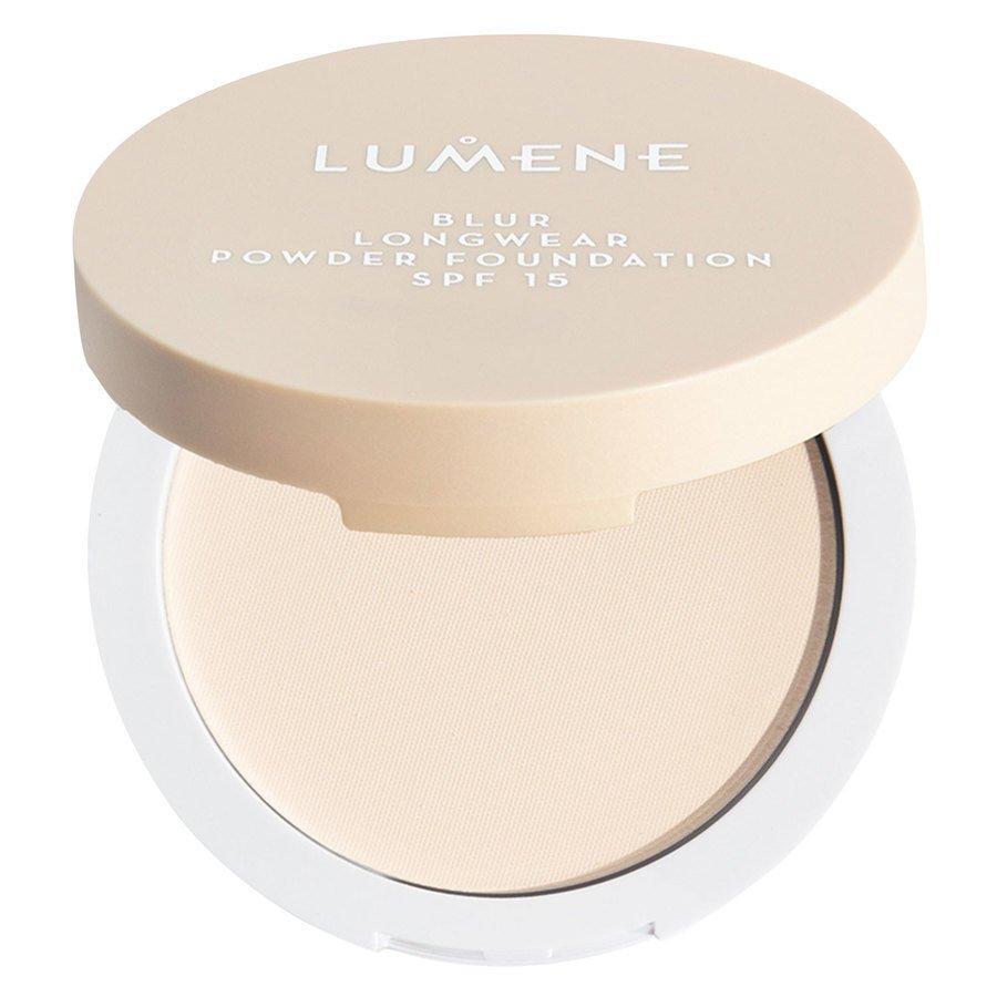 Lumene Blur Longwear Powder Foundation SPF15, Light Ivory 10g