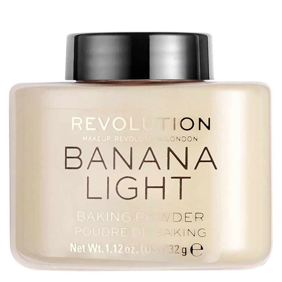 Makeup Revolution Loose Baking Powder, Banana Light