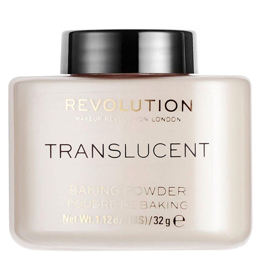 Makeup Revolution Loose Baking Powder, Translucent