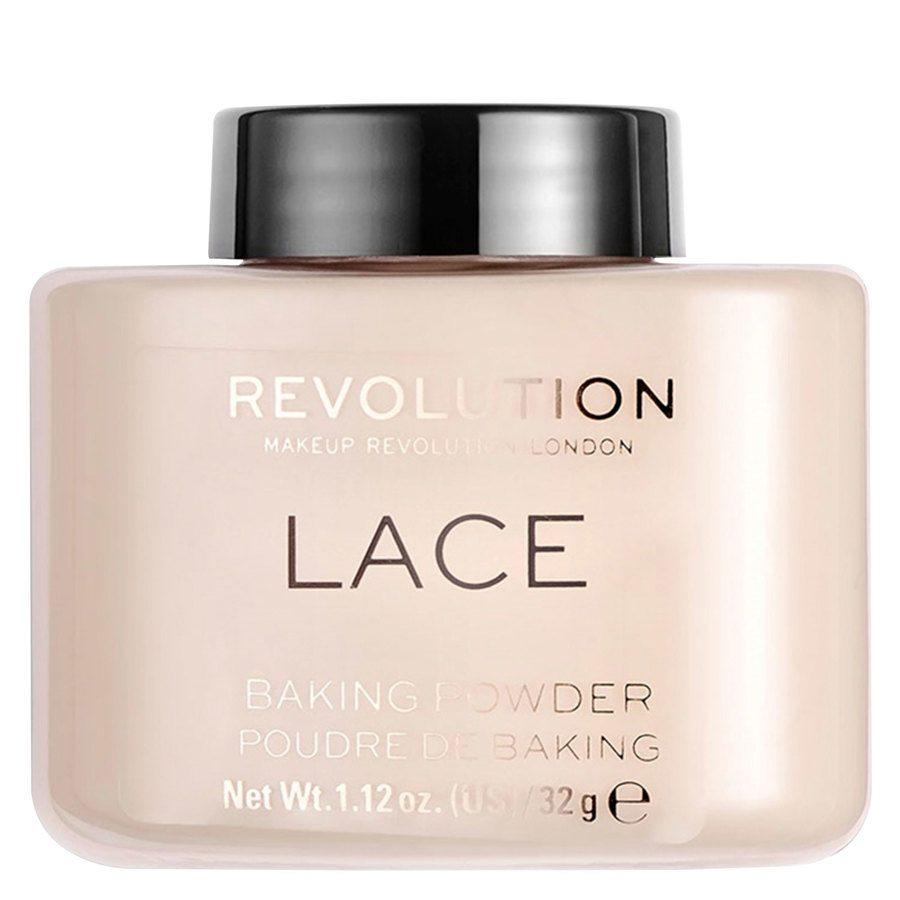 Makeup Revolution Loose Baking Powder, Lace