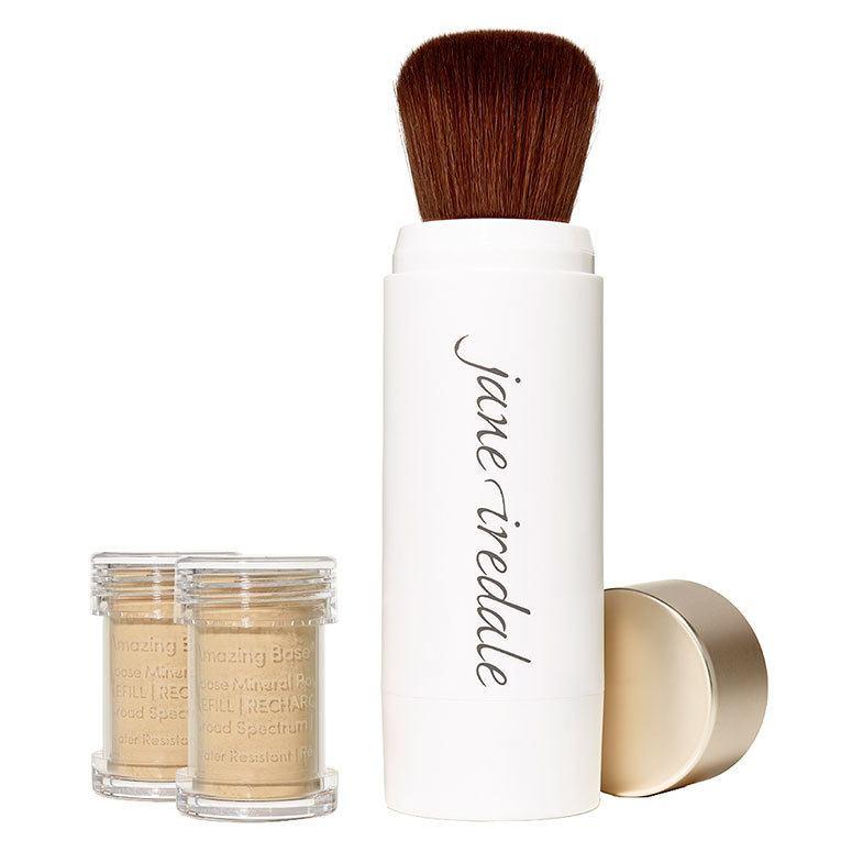 Jane Iredale Amazing Base Refillable Brush, Radiant 2x Refills