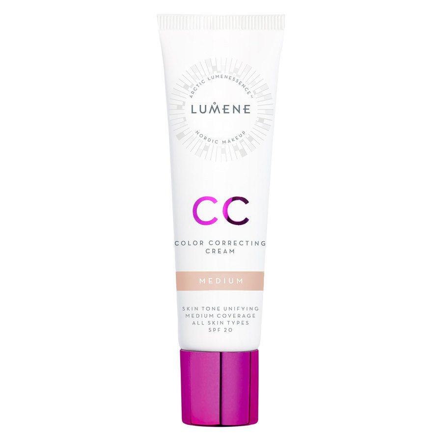 Lumene CC Color Correcting Cream, Medium SPF20 30 ml