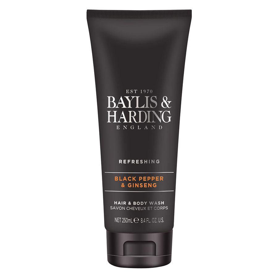 Baylis & Harding Signature Black Pepper & Ginseng Hair & Body Wash (250ml)