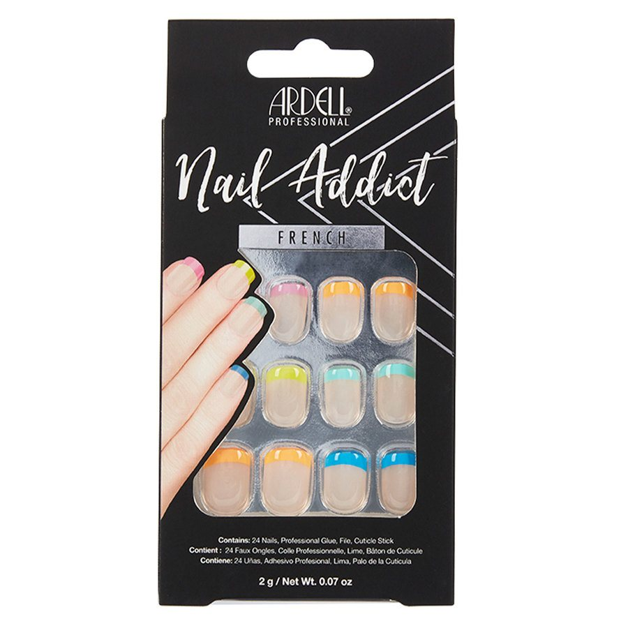 Ardell Nail Addict, Rainbow French 1St.