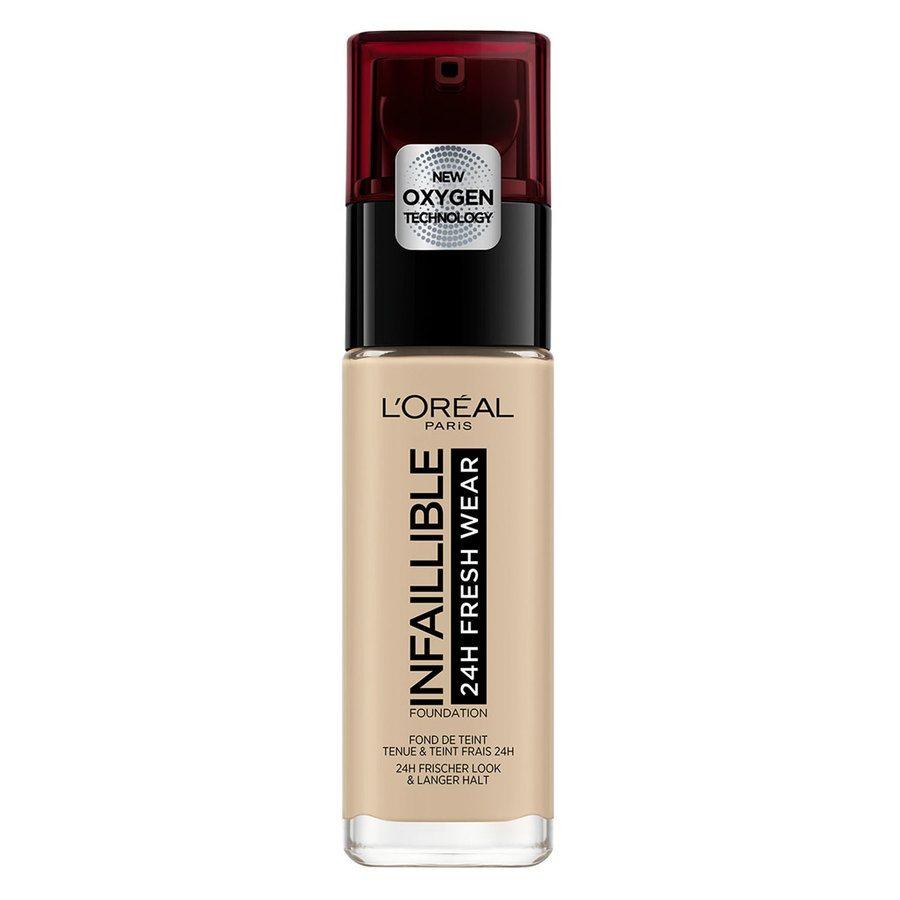 L'Oréal Paris Infaillible 24H Fresh Wear Foundation, #130 True Beige (30 ml)