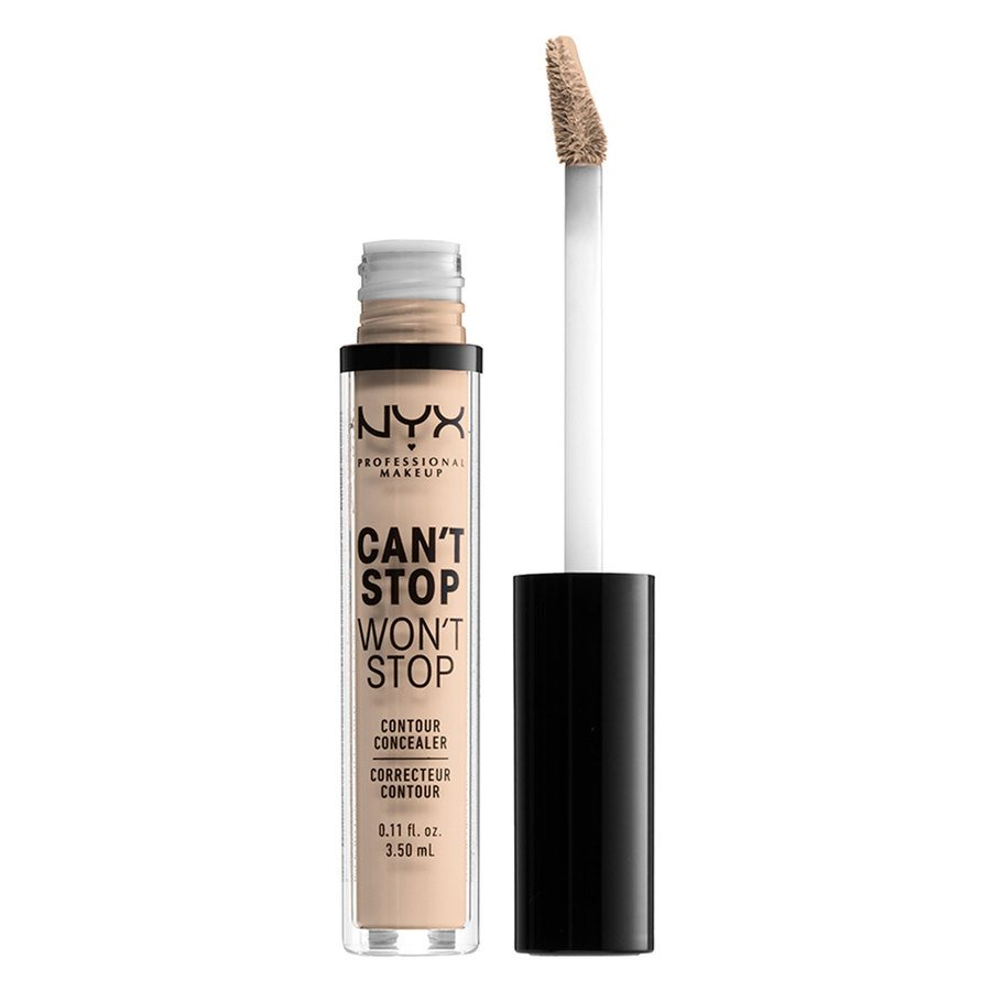 NYX Professional Makeup Can't Stop Won't Stop Contour Concealer (3,5 ml), Alabaster