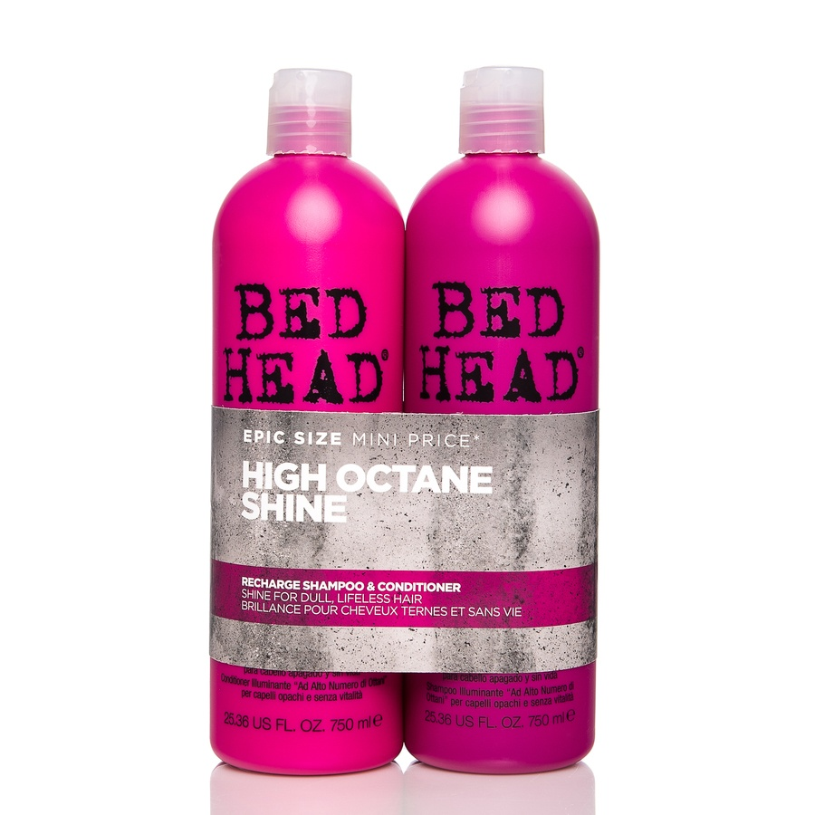 TIGI Bed Head Recharge High-Octane Shine Shampoo and Conditioner (2 x 750 ml) (Doppelpack)