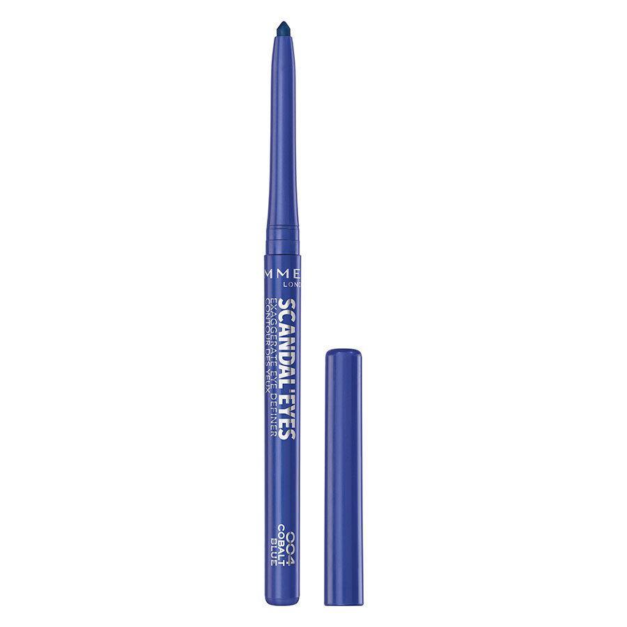 Rimmel London Scandaleyes Exaggerate Eye Definer, 004 Cobalt Blue 0,35 g