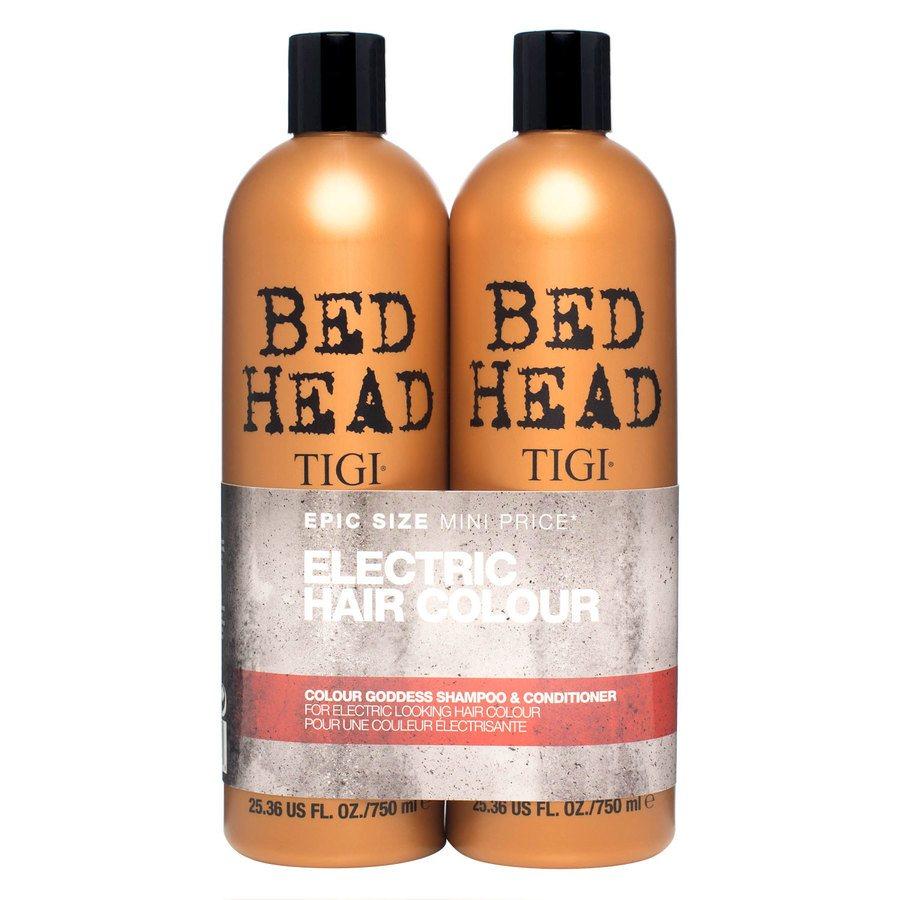 TIGI Bedhead Colour Goddess Shampoo and Conditioner Duo (2 x 750 ml)