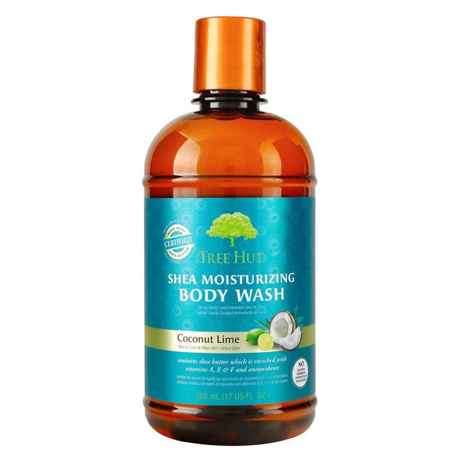 Tree Hut Shea Moisturizing Body Wash, Coconut Lime 503 ml