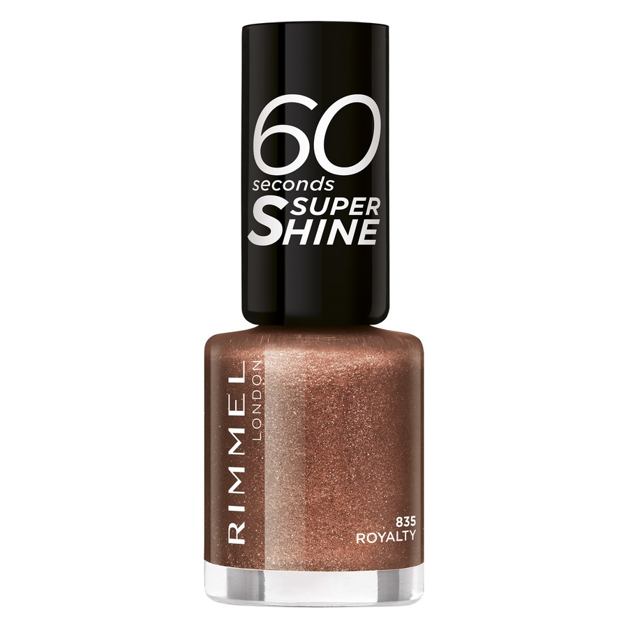 Rimmel London 60 Seconds Super Shine, 835 Royalty (8 ml)