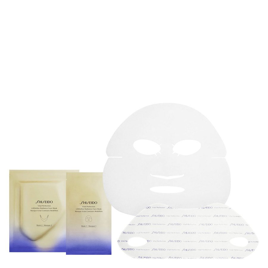 Shiseido Vital Perfection LiftDefine Radiance Face Mask 6 Stück
